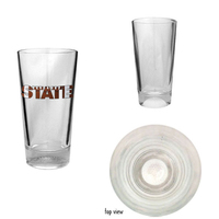 16oz Sport Pint Glass with Painted Golf Ball