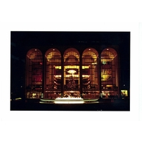 Holiday Card - A Lincoln Center Holiday - NYC Christmas