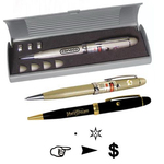 Executive laser pen with multiple lenses and gift box