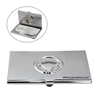 Steering Wheel Metal Business Card Case