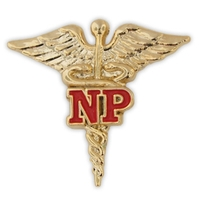 NP Caduceus Lapel Pin