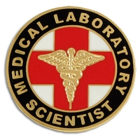 Medical Laboratory Scientist Pin