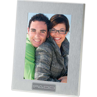 Lecce - Brushed Metal Photo Frame