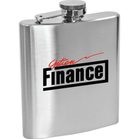 Lincoln - 6 oz Stainless Steel Hip Flask