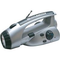 LED Dynamo Flashlight Radio