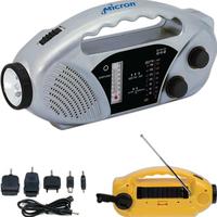 Solar AM/FM emergency tool