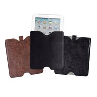Luxury Croc Leather Tablet Sleeve