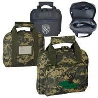 Dual compartment gun bag