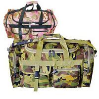 Camo travel duffel