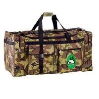 Jumbo camo travel duffel
