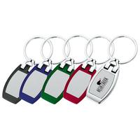 Polished Chrome Metal Key Holder