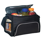Polyester 6 pack cooler