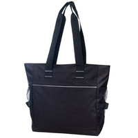 Poly Zippered Tote