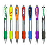 Promo Retractable Pen with Full Color Imprint