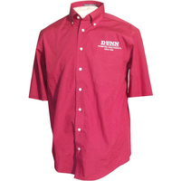 Chestnut Hill Men's 32 Singles Short Sleeve Twill Shirt Rx