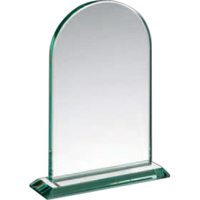 Arched Jade Glass Award