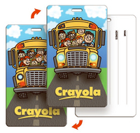 Luggage or Backpack tag chool Bus Back to School (Custom)