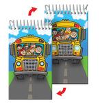 Mini Notebook or Notepad School Bus Back to School (blank)