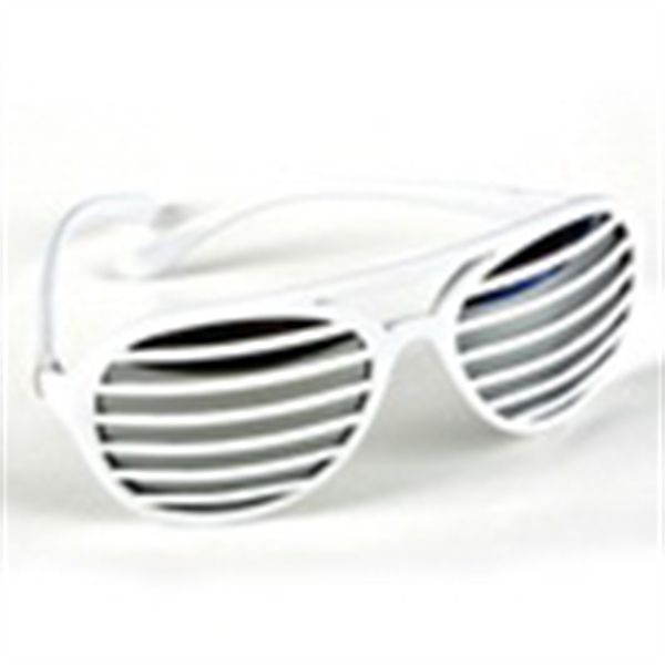 Slotted Lens Sunglasses