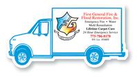 Magnet - Delivery Truck - Full Color