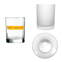 14oz Frosted Double Old Fashioned Tumbler, spot color