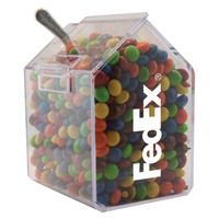 Candy Bin Dispenser with Chocolate Littles