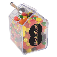Candy Bin Dispenser with Jelly Beans