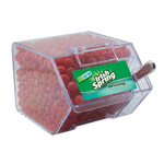 Large Candy Bin with Cinnamon Red Hots Candy