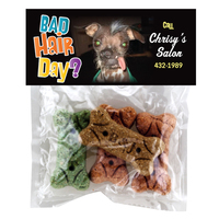 Header Bag With Dog Bone Treats
