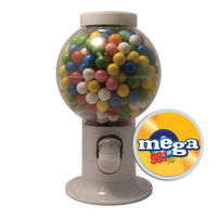 Gumball Machine Candy Dispenser with Gumballs