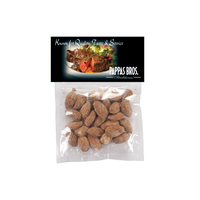 Large Candy Bag (with Header Card) with Almonds - Nuts