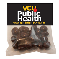 Large Candy Bag (w/Header Card) w/ Chocolate Covered Raisins