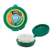 Hook-N-Go Plastic Pillbox Case With Sugar-Free Mints