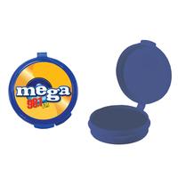 Blue Empty Plastic Pill Box or Pillbox Case