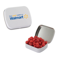 Small Candy Tin with Cinnamon Red Hots