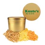Gold Two Gallon Popcorn Tin - Three Flavors