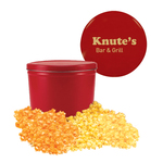 Red Two Gallon Popcorn Tin - Three Flavors