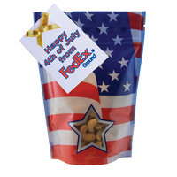Large Window Bag with Cashew Nuts - Patriotic - 4th of July