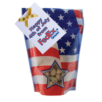 Large Window Bag with Pistachio Nuts - Patriotic - July 4th