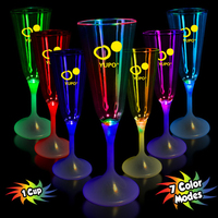 7 1/2 oz. Lighted LED Champagne Flute