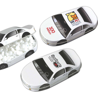 Your first car tin filled with Jelly Belly® jelly beans