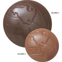 Chocolate Shape - 1 1/2 oz Globe