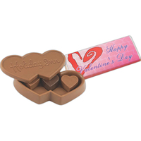 Chocolate Candy Heart Box with Heart Truffles