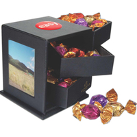 Leatherette Swing Box with Assorted Godiva Chocolate