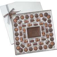 Large custom chocolate delight gift box