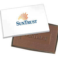 8 oz. Cutout Shape Custom Logo Molded Chocolate