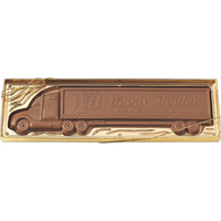 Molded Chocolate Tractor Trailer