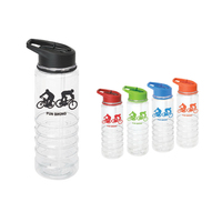 25 oz. Triton Sports bottle w/Sip Top water bottle