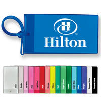 Bag Tag - Business Card Insert - Spot Color (Quik-Ship)