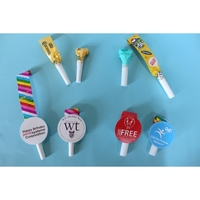 Tube or Noisemaker Blowouts w/ Custom Medallion or Blowouts